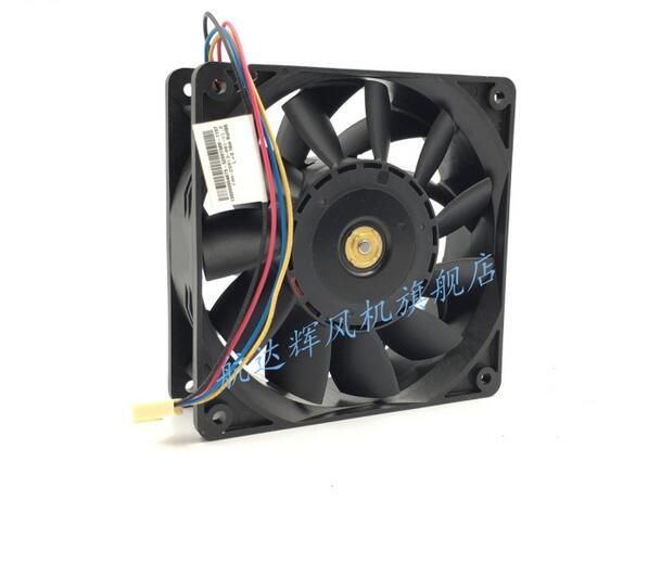... AVC 2B12038B24M 12038 24V 0.87A 4 Wire Server Cabinet Cooling Fan ...