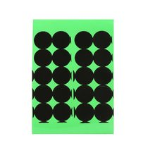 Splatter Target Stickers Adhesive Cover Up Patches for Shooting Targets Practice 1 Reactive Peel and Stick