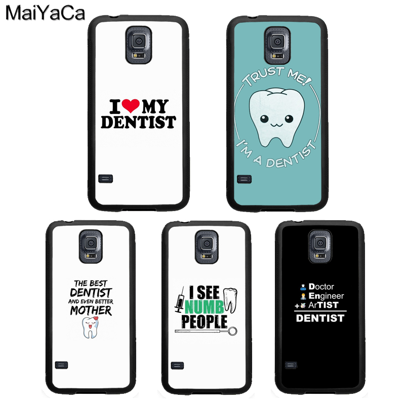 US $2.9 20% OFF|MaiYaCa Funny Dental Dentist Quotes Rubber Case For Samsung  Galaxy S4 S5 S6 S7 Edge S8 S9 S10 Plus Lite Note 9 8 5 4 Cover Coque-in ...