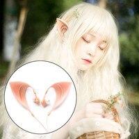 ihens5 Fairy EarPods HIFI Spirit Earphone With Mic 3.5mm Cosplay Elf Ears Earphones Best Gift for Girls Kids New Year Phones