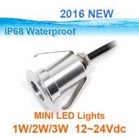 Из нержавеющей стали IP68 Высокая мощность 3 Вт led rgb подземный свет rgb led шаг свет 3 Вт RGB 3in1 12 В Светодиодная лампа для загара
