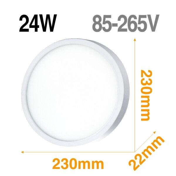 24W Mirror shape