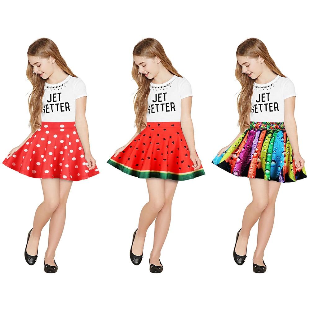 Baby Mädchen Röcke 2019 Neue Marke Kinder Kleidung Der Kinder Plissee Rock Für 8-12y Casual Cartoon Baby Mädchen Röcke Mädchen Kleidung Spezieller Kauf