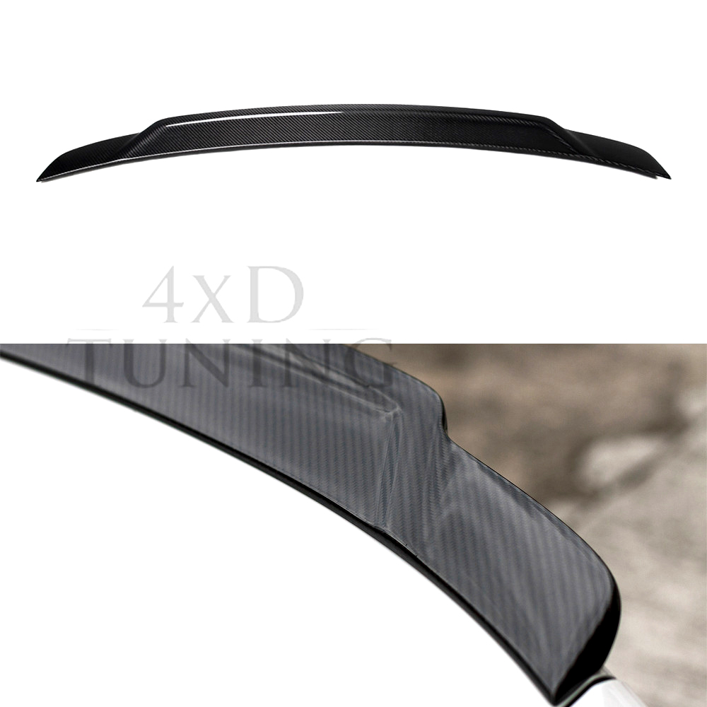 For BMW F22 F23 & M2 F87 Spoiler Exot Style 2 Series 218i 220i 228i M235 Carbon Fiber Rear Spoiler Rear Wing 2014 2015 2016 -UP for bmw f20 spoiler ac style bmw 1 series f20 f21 carbon fiber rear roof spoiler 116i 120i 118i m135i 2014 2015 2016 2017