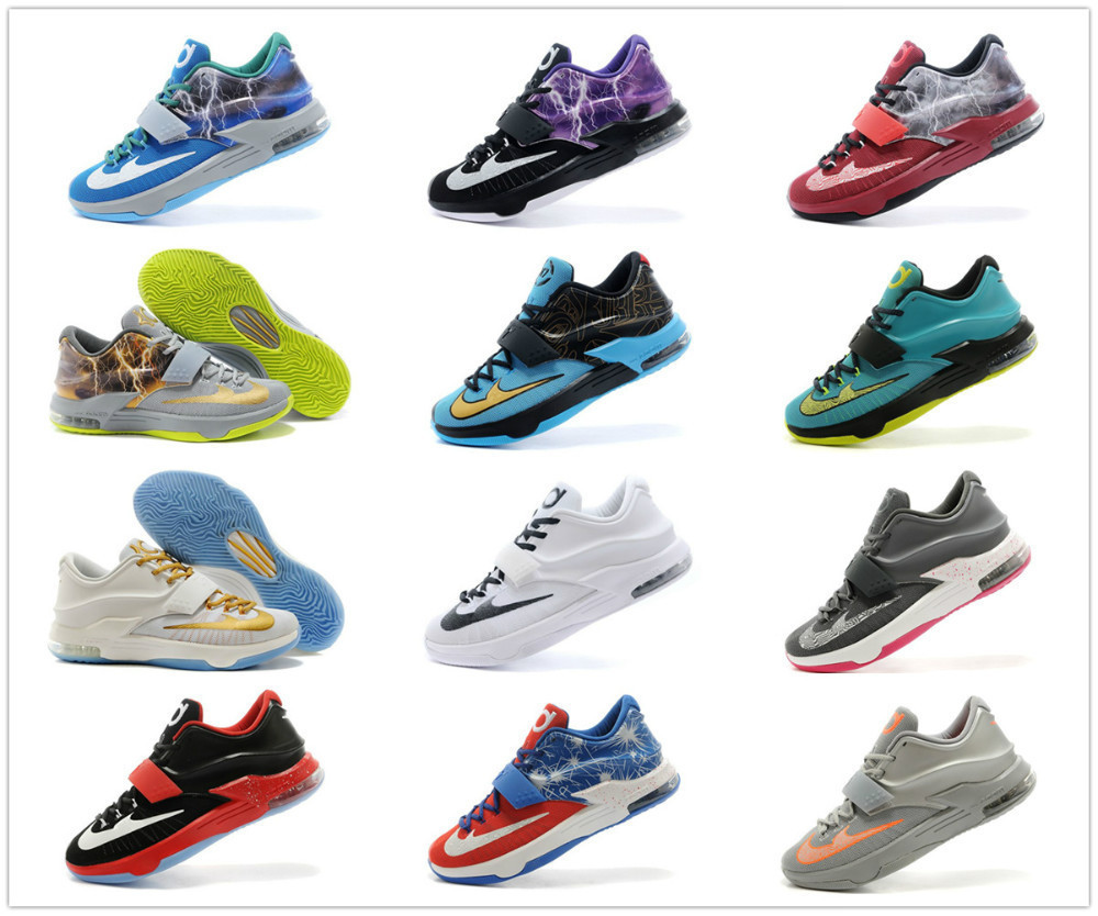 aliexpress comprar recién llegado de 21 colores kd 7 hombres zapatos de .