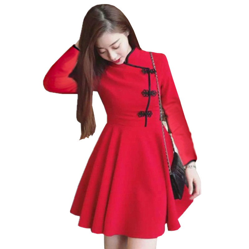 Buy low price, high quality long sleeve cheongsam with worldwide shipping on seebot.ga BOOCRE Modern Red Bride Cheongsam Chinese Dress Women Long Sleeve Lace Wedding Qipao US $ / piece Free Shipping. Order (1) Chinese style online stores.