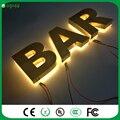 """Luz """"bar"""" Sinal de LED acender Letras e Iluminado night club Decorações"""