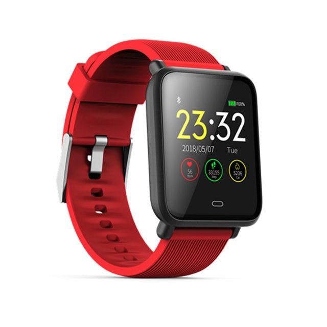Q9 Thể Thao Đồng Hồ Thông Minh Android Đồng Hồ Phụ Nữ Người Đàn Ông Không Thấm Nước Thông Minh xem Với Heart Tỷ Lệ Huyết Áp Smartwatch Đối Với IOS điện thoại