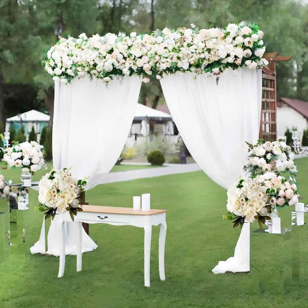 Fengrise Artificial Silk Rose Flower Decoration Rustic Wedding