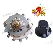 Medium ceramic band switch 2 layer 5 files Wooden switch 20MM axle adjustable gear position switch