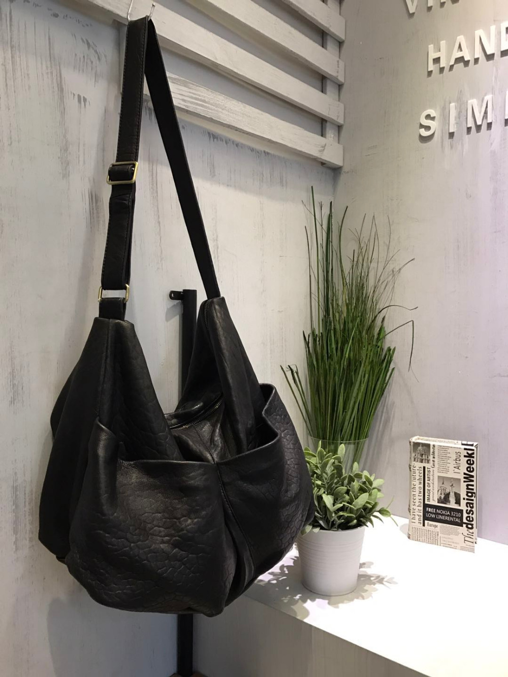 Vendange original fashion Europe and America women bag genuine leather leisure messenger 0756 the original single in europe and america 2014