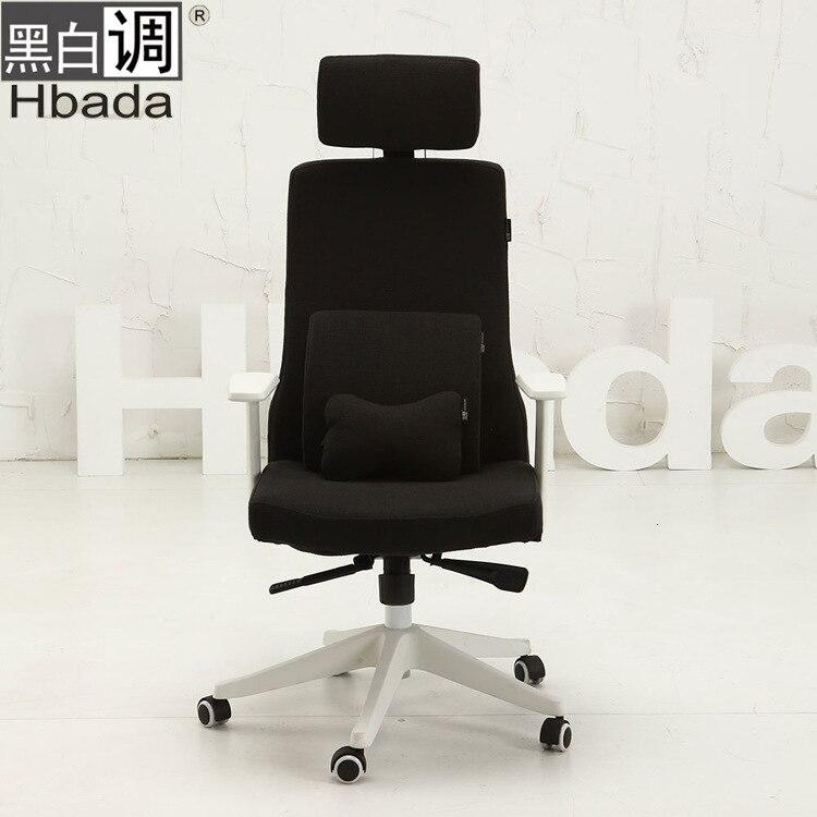 Tremendous B W Fashion Linen Tone Home Office Chair Computer Chair Bralicious Painted Fabric Chair Ideas Braliciousco