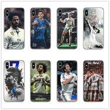 6010d3b0816 Cristiano Ronaldo cr7 CIUO Asensio Raúl bell casos de la cubierta del teléfono  para apple Iphone 6 7 8 X XR XS. funda para teléf.