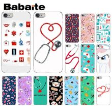 Babaite Nurse Medical Medicine Health Heart TPU Soft Phone Case for Apple iPhone