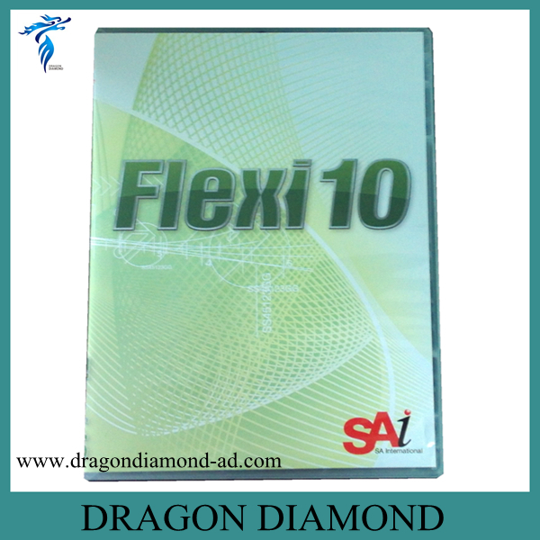Flexi 10 software for manual contour Teneth cutting plotter original for teneth cutting plotter sai flexistarter contour cutting plotter flexi starter software could version