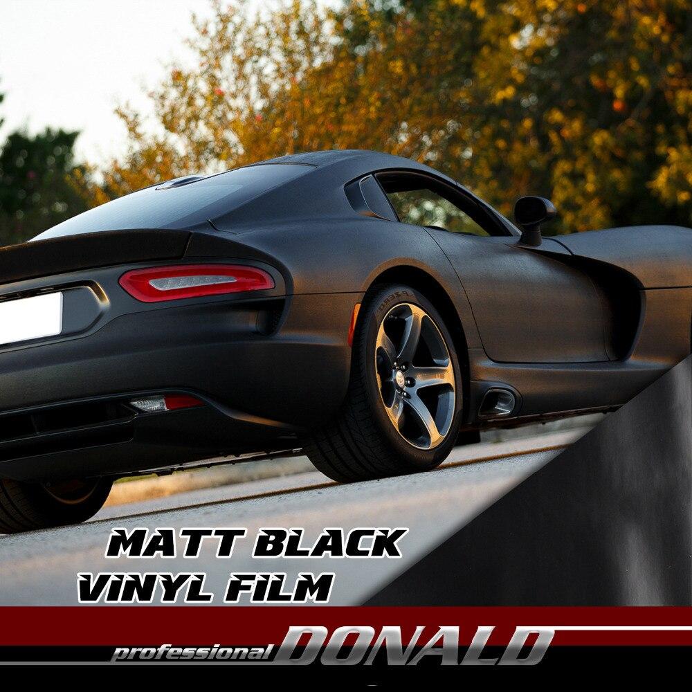 10mx60cm 394 x 24 matte black car body roof bumper. Black Bedroom Furniture Sets. Home Design Ideas