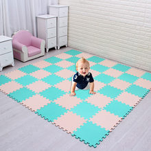 Anti slip noise protection pad of home soft floor tiles EVA child foam safety gymnastics Puzzle Mat Carpet waterproof mat kids(China)
