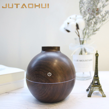 JTH-020 USB 130ml FREE SHIP Aroma Essential Oil Diffuser Ultrasonic Cool Mist Humidifier Air Purifier 7 Color Change LED light