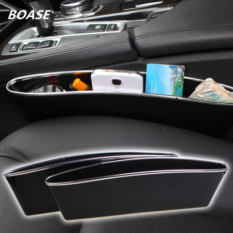 2 Pcs/Set CATCH CADDY Car Seat Pocket Catcher Organizer Car Seat PP Stowing Tidying Pocket Bags Car Storage