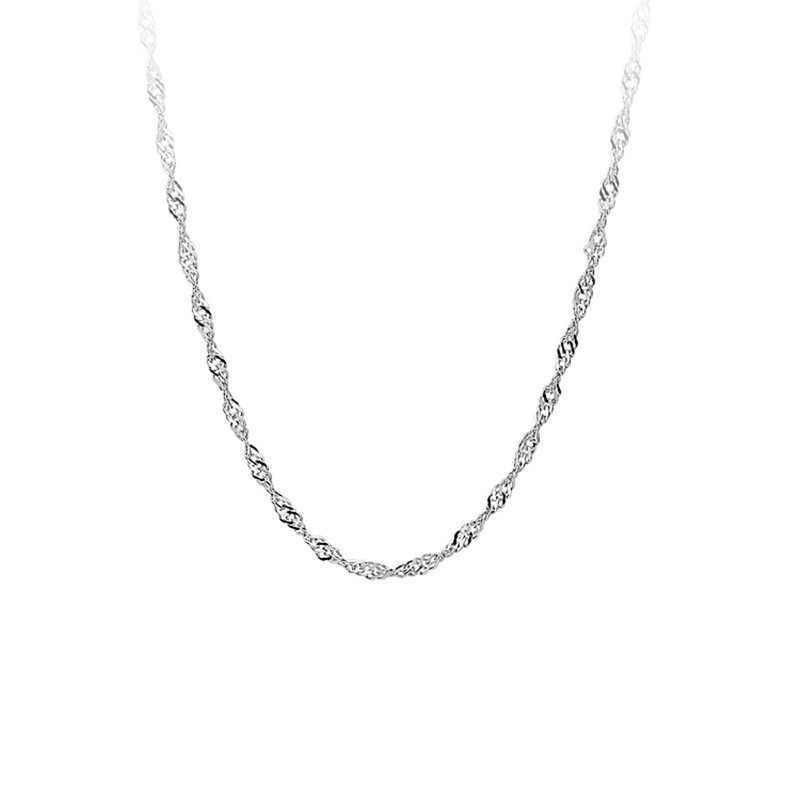 Oulai777 2019 stainless steel necklaces & pendants choker lady necklace gift for women beads new year female accessories jewlery