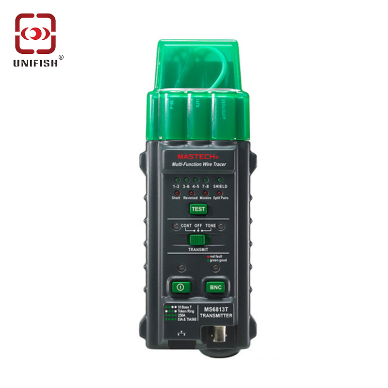 цены  MASTECH MS6813 Multi-function Network Cable Tracker Support Testing 10Base-T / T568A / T568B Wire Network Telephone Cable Tester