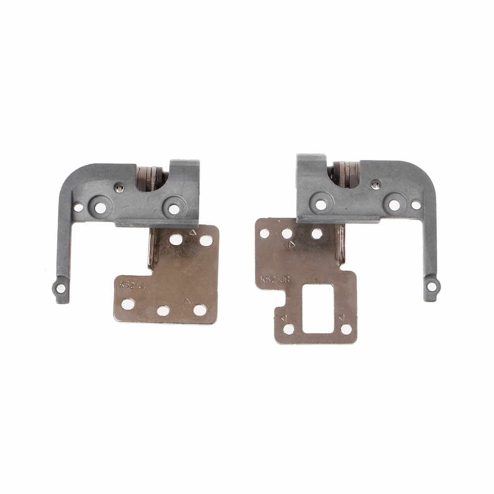 1 Pair Laptop LCD Display Left & Right Hinges For ASUS K52D K52 K52J K52F X52J X52F A52J Replacement Parts High Quality C26