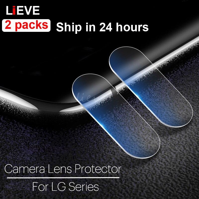 2pcs Camera Glass For LG G6 G7 G8 G5 Screen Protector On For LG V30 Plus V10 V20 V40 V50 ThinQ G6 Back Lens Tempered Glass Film