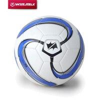 จัดส่งฟรีWinmaxการออกแบบใหม่4มิลลิเมตรPUลื่นทนมาตรฐานขนาด5ลูกฟุตบอลลูกฟุตบอล