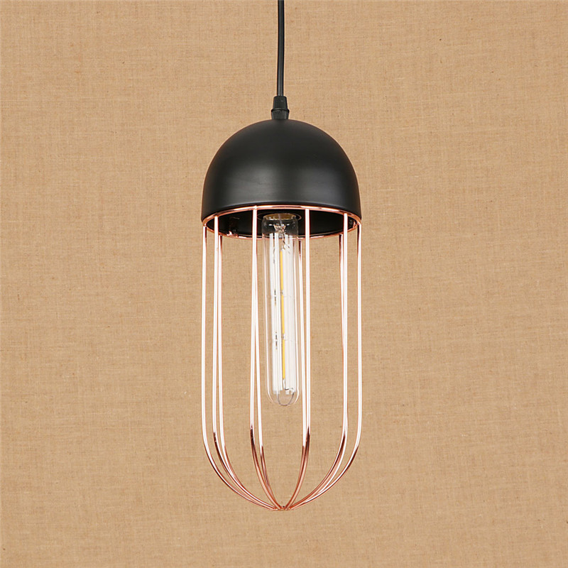 Nordic Loft Style Simple Iron Droplight Industrial Vintage Pendant Light Fixtures For Dining Room HangingLamp Indoor Lighting american edison loft style rope retro pendant light fixtures for dining room iron hanging lamp vintage industrial lighting