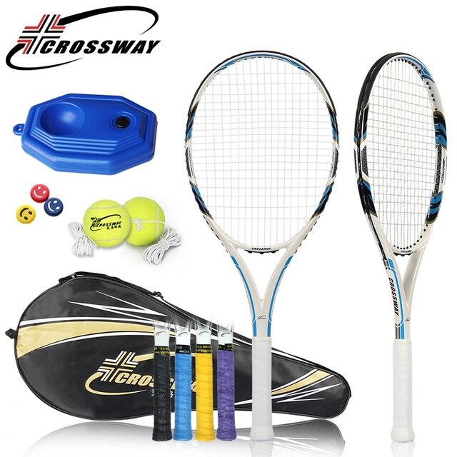 CROSSWAY 1PC new Tennis Racquet racchetta Raquette Fitness Training Racket Tennis Rackets outdoor sports equipment fitness 801