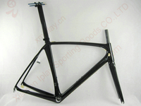 last one promotion carbon road bike frame di2 carbon bike frame road for v brake road bike carbon frame with fork,seatpost
