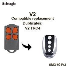 V2 TRC4 Cloner Controle Remoto/Rolling Code Duplicadora 433.92 mhz. frete grátis