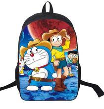 16-Inch Cartoon Backpacks for Children Boys Girls Doraemon Rucksack Primary Students School Bag Mochila Backpack