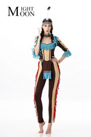Indian Queen Costumes Indian Costume Womens Pocahontas Native American Indian Wild West Fancy Dress Party Costume