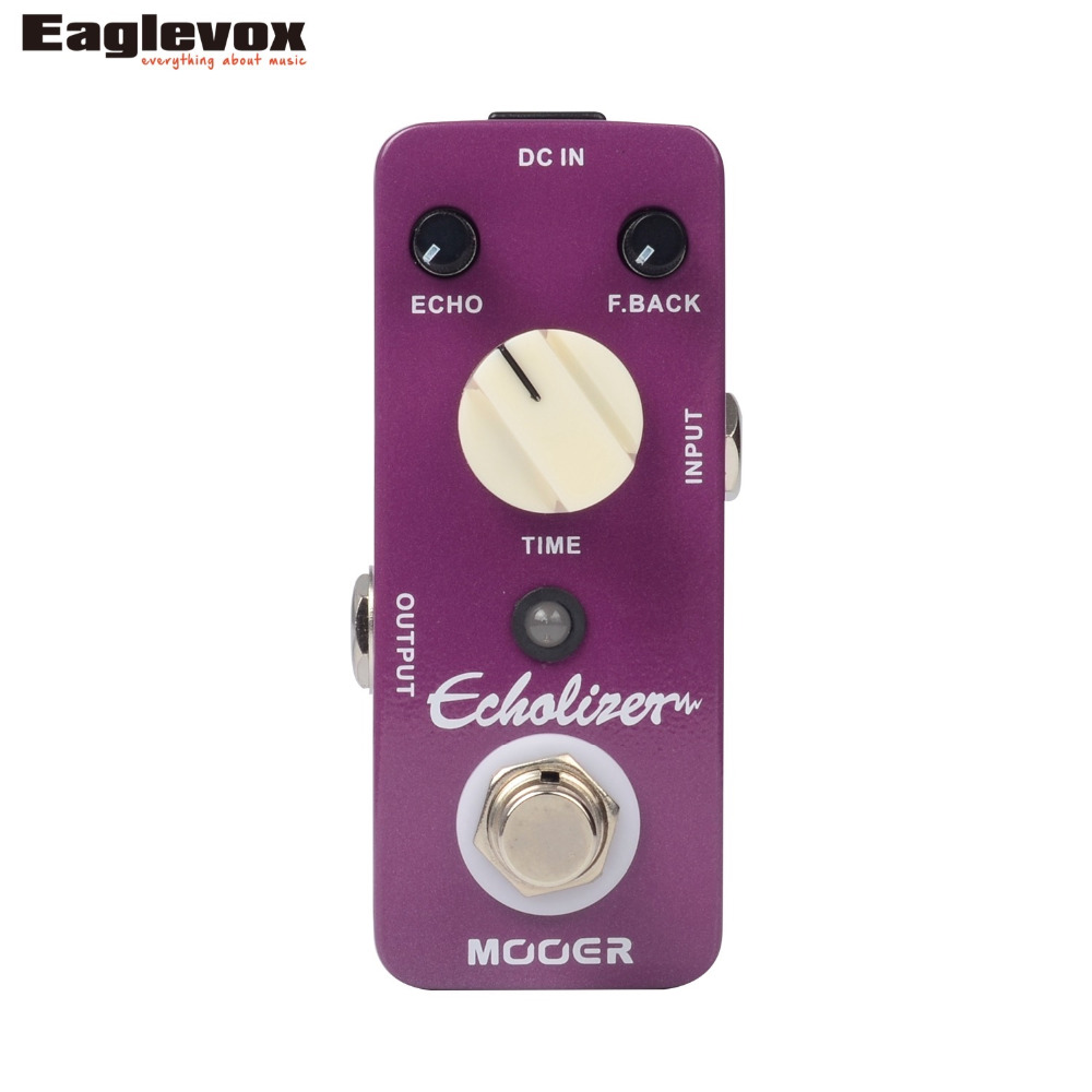 Mooer Echolizer Analog Delay Effect Pedal True Bypass mooer ana echo analog delay pedal
