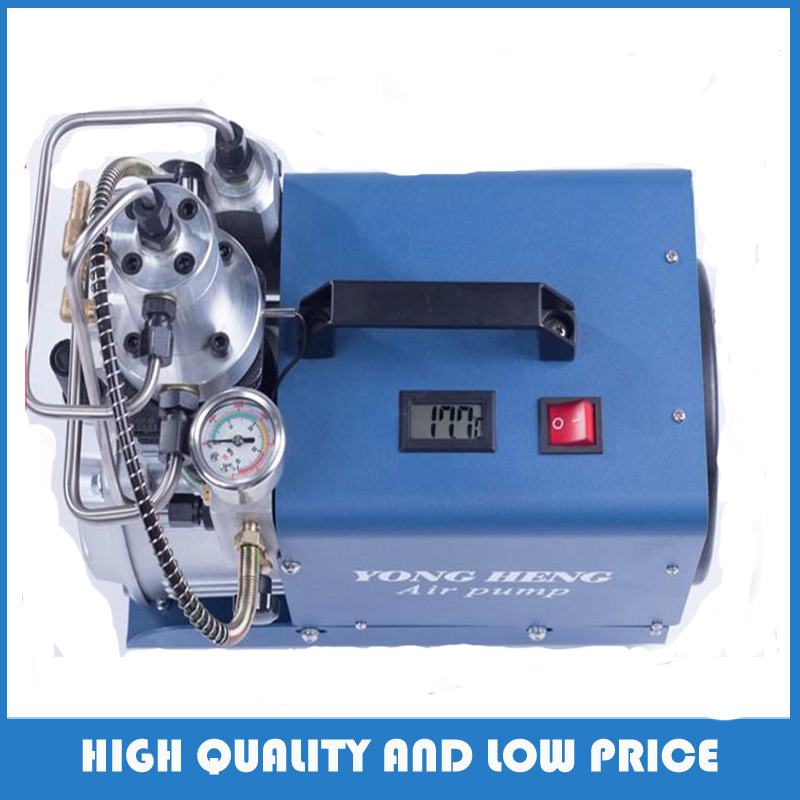 110v/220v 300BAR 30MPA 4500PSI High Pressure Air Pump Electric Air Compressor for Pneumatic Airgun Scuba Rifle PCP Inflator yongheng 300bar 30mpa 4500psi high pressure air pump electric air compressor for pneumatic airgun scuba rifle pcp inflator