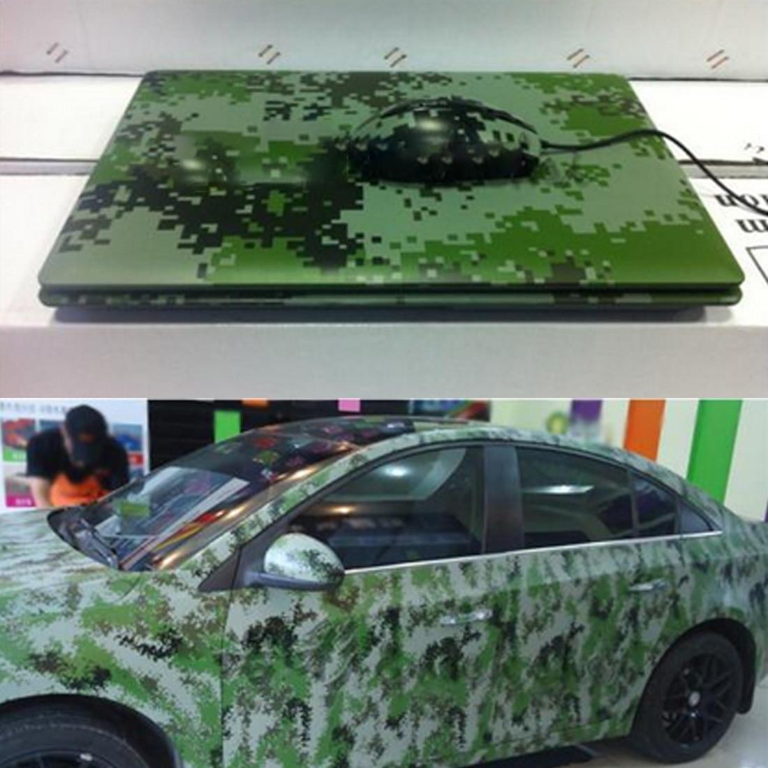 Sheet Waterproof 3D Carbon Fiber Skateboard Car Sticker Camouflage stickers