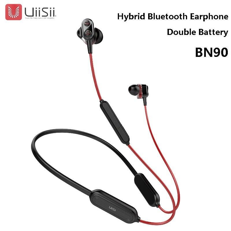 HOT SALE] UiiSii BN90 Wireless Bluetooth Headset HIFI Hybrid