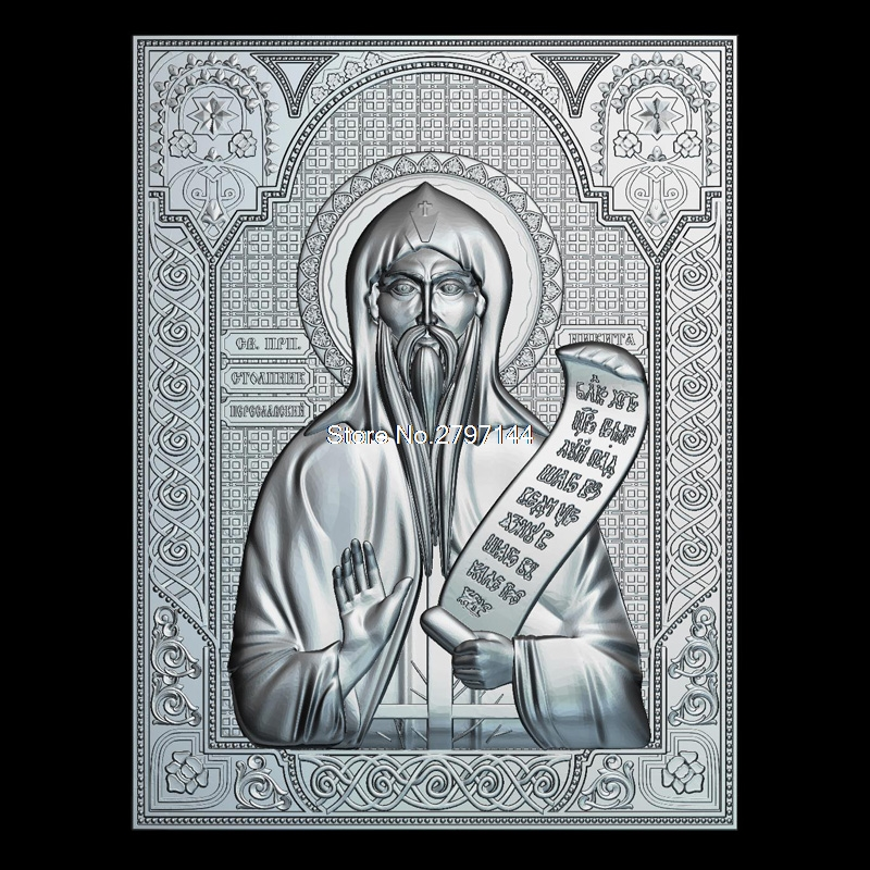 Venerable Nikita Stylites Pereslavsky 3D model relief figure STL format Religion 3d model relief  for cnc in STL file format venerable nikita stylites pereslavsky 3d model relief figure stl format religion 3d model relief for cnc in stl file format