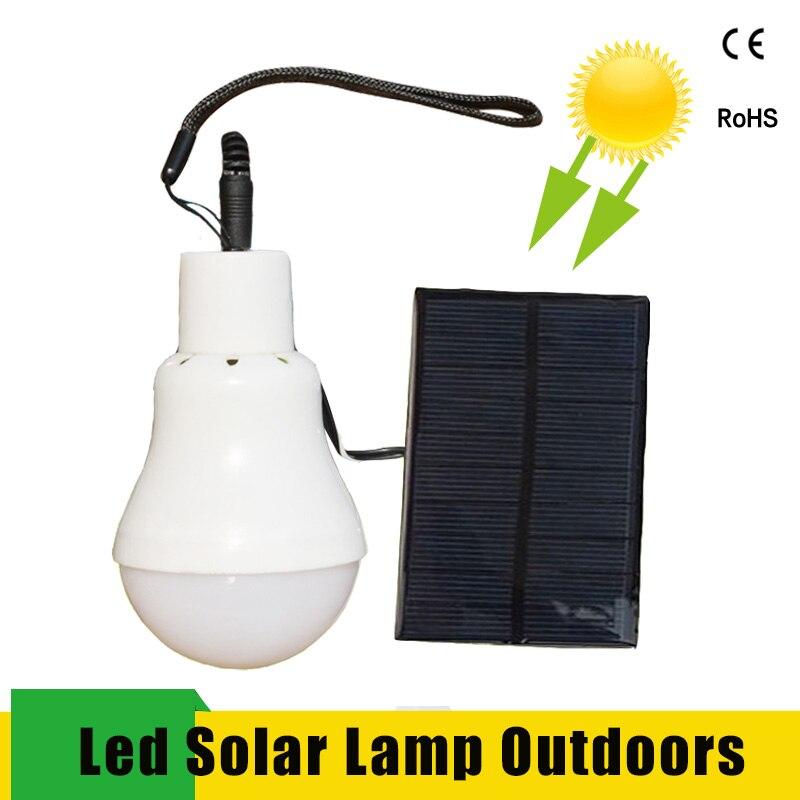 Diodo emissor de luz Solar Luz Solar Lâmpada Solar do Diodo Emissor de Luz Exterior Parágrafo 15W Exterieur Lampe Solaire Portátil da Barraca de Acampamento Luz Solar Noite luz