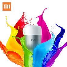 Xiaomi mi Yeelight Blue II LED Smart Bulb (Color) E27 9W 600 Lumens Mi Light Xiaomi Mijia Smart Phone WiFi Remote Control головоломка xiaomi color mi smart rubik xmmf01jqd