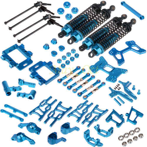 Paquete de piezas de actualización para RC 1:10 Buggy eléctrico y Nitro azul HSP 94107, 94170, 94106 kit