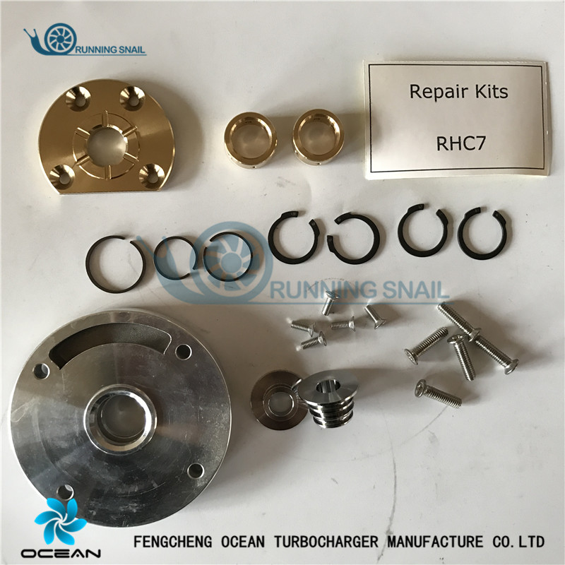 RHC7 Turbocharger repair kits TURBO PARTS REBUILD114400 2100 24100 2600 24100 1440C 114400 3140 EX200 1 EX200 6 EX300 1 EX300