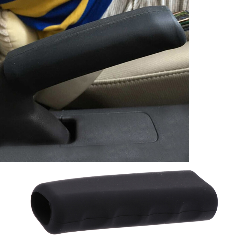 Car Universal Silicone Handbrake Covers Nonslip Hand Brake Cover Case Gear Knob Sleeve Protector
