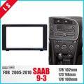 LONGSHI потрясающая двойная Din Автомобильная Радио фасция рамка для 2010 SAAB 93 9-3 DVD панель стерео плеер наружная рама отделка ободок 2din