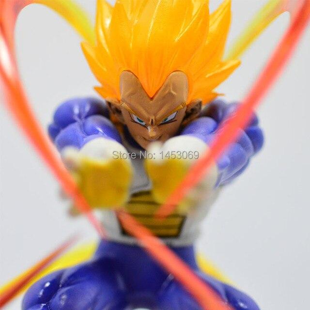 Dragon Ball Z Super Saiyan Vegeta Battle PVC Action Figure
