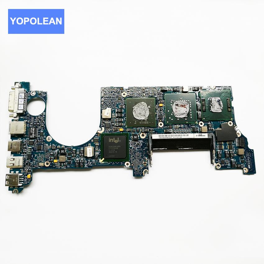 Prix pour D'origine carte logique pour macbook pro a1226 carte mère cpu t7500 2.2 ghz 820-2101-a ma895 ll/un mi 2007