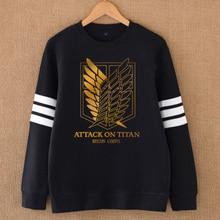 Attack on Titan Hoodie O-neck Sweatshirt /Coat men/women (9 colors)