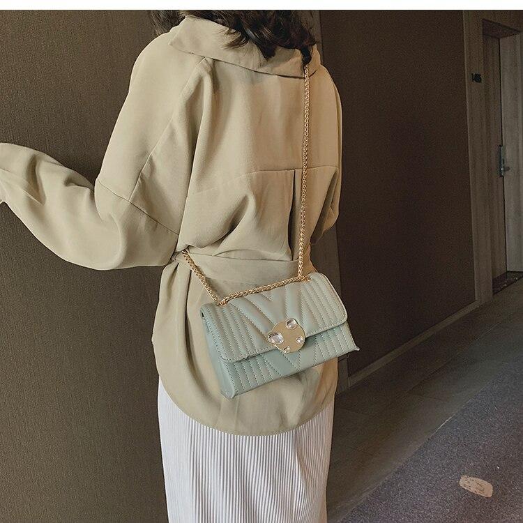 newest fashion bags bag women chain shoulder crossbody bag women's handbags (22)