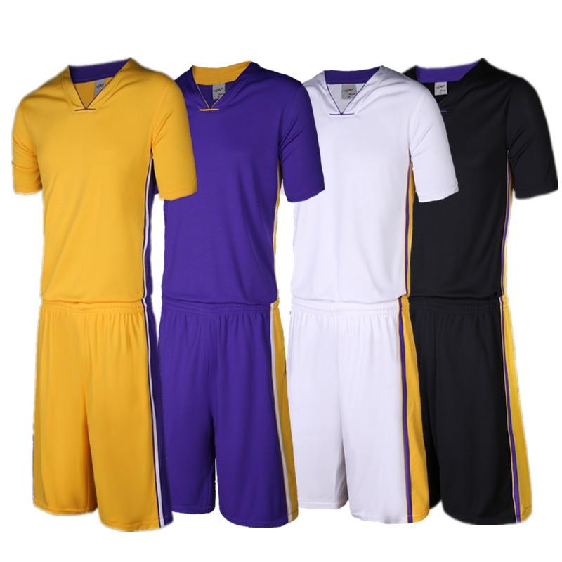 1166b1aba5 2017 Hombres camiseta de Baloncesto Reversible Establece kits de los Uniformes  Deportivos ropa de Doble cara de baloncesto jerseys trajes a Medida-in ...